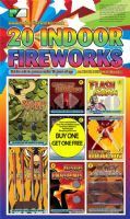 Indoor Fireworks (Buy 1 Get 1 Free!)
